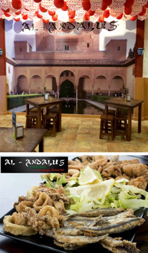Franquicia Al-Andalus Tapas