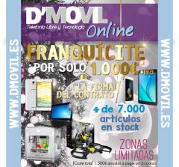 Franquicia D\'Movil Online