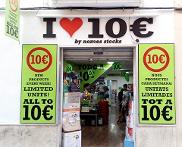 Franquicia I LOVE 10€