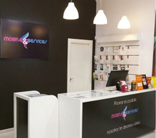 Franquicias franquicia mobile services for Oficinas jazztel madrid