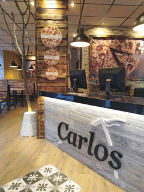Franquicia Pizzería Carlos