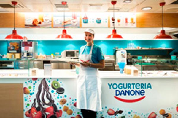 Franquicia Yogurtería Danone