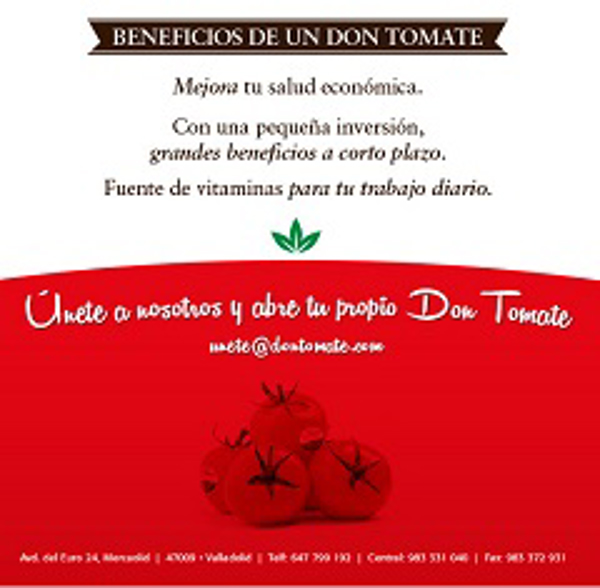 Franquicia Don Tomate