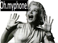 oh..my phone !