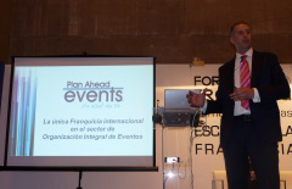 Plan Ahead Evens dicta cátedra en Expofranquicia 2014