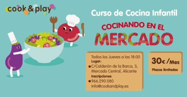 Cook play lanza cursos de cocina para ni os en el mercado ce - Cursos de cocina para ninos en madrid ...