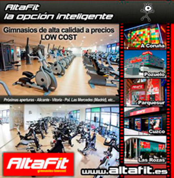 La red de franquicias Altafit presentará su modelo de negocio en Madrid