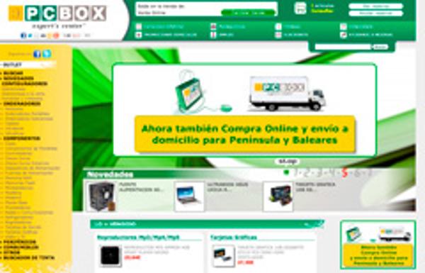 Las franquicias PCBOX abren su tienda online