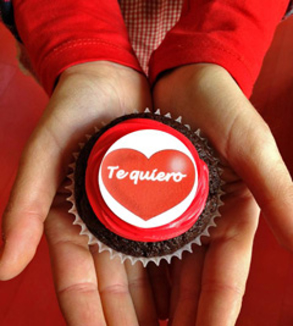 Un cupcake por San Valentín en las franquicias Happy Day Bakery
