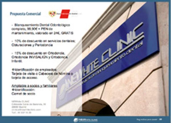 La franquicia Newhite Clinic firma un acuerdo con El Club Rayo Vallecano
