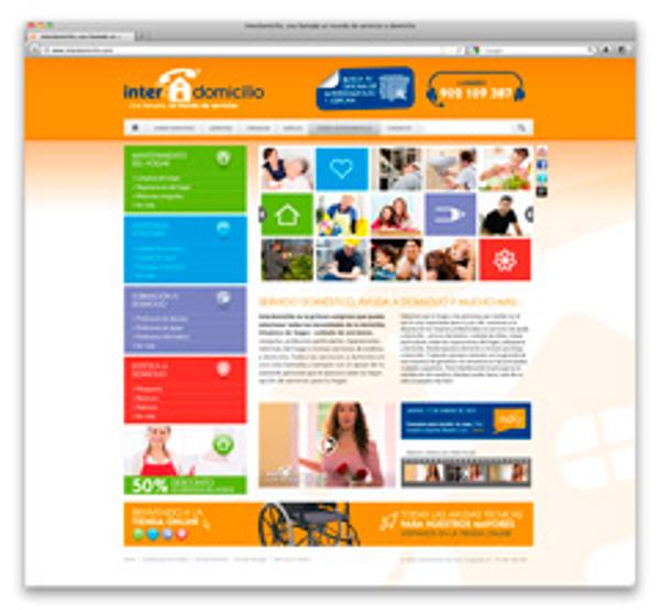 Las franquicias Interdomicilio consiguen el 70% de clientes a través de su web
