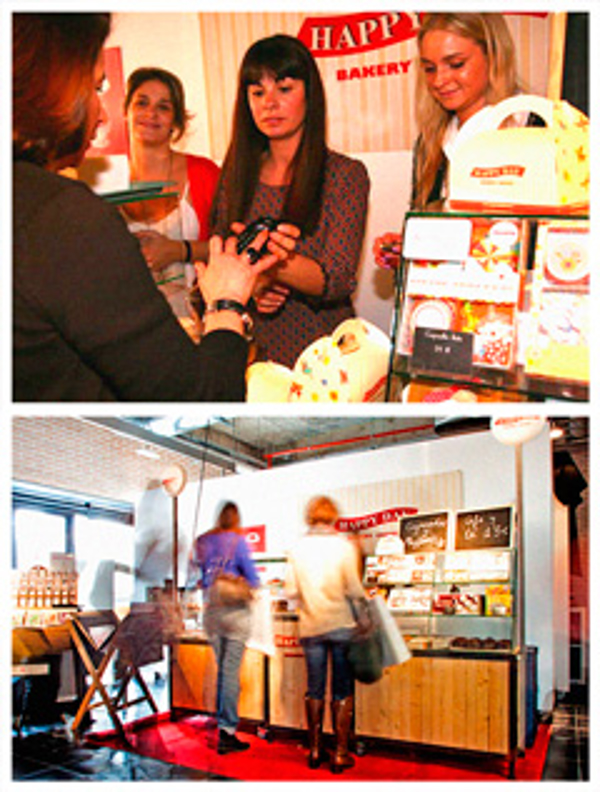 La franquicia Happy Day Bakery en la presentación de Izettle