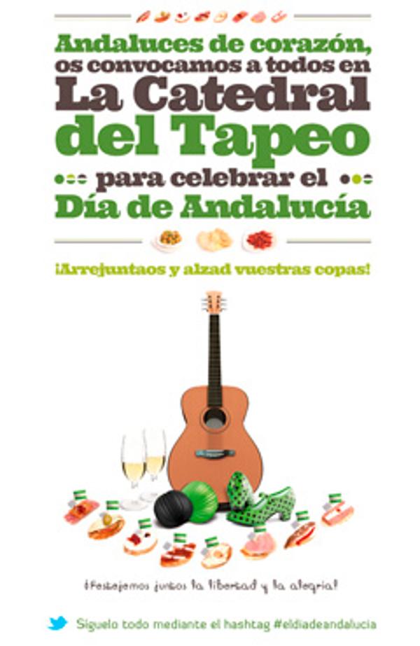 Las franquicias Parlamento, La Catedral del Tapeo, celebrán el Día de Andalucía a lo grande