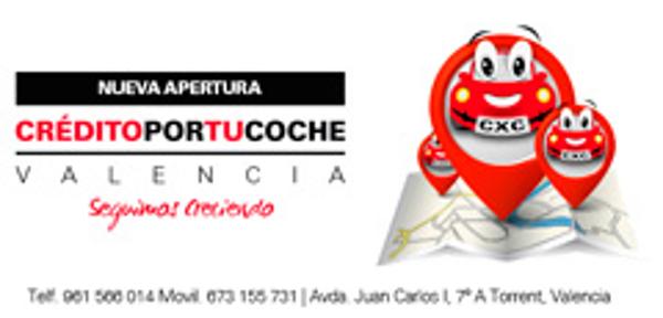 La red de franquicias Crédito por tu Coche inaugura oficina en Torrente, Valencia