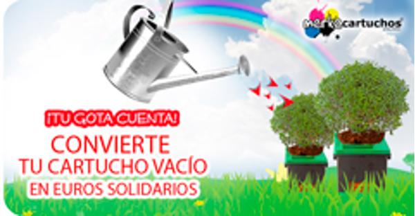 La franquicia Merkecartuchos inicia una campaña solidaria