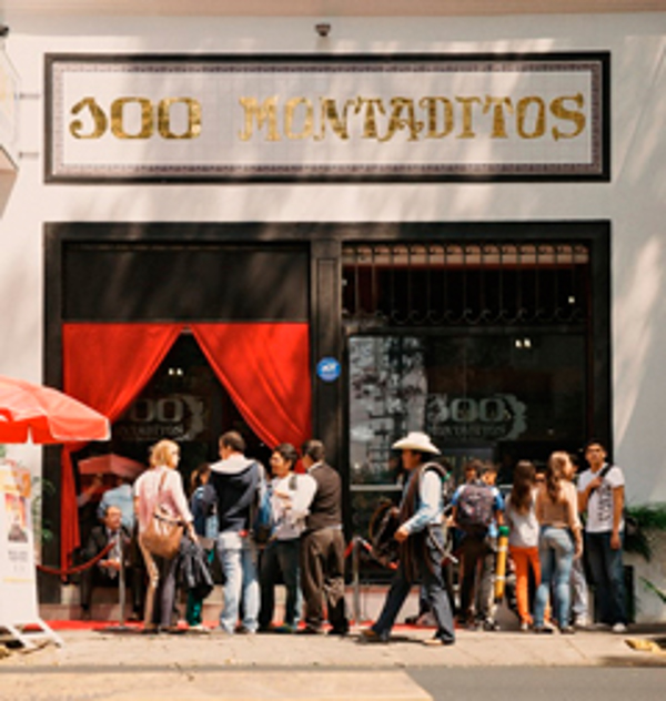 La franquicia 100 Montaditos difunde la gastronomía española en México D.F.