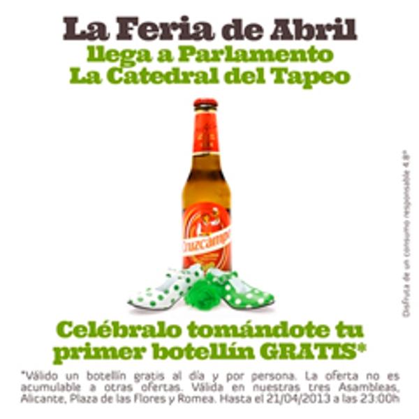 La Feria de Abril viaja a Murcia y Alicante gracias a las franquicias Parlamento