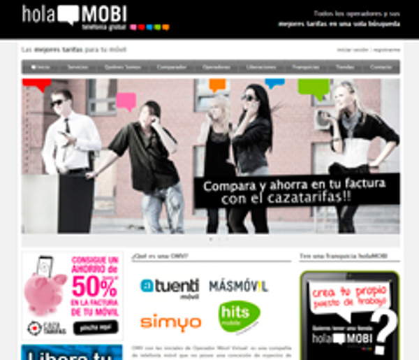 holaMOBI, la nueva franquicia de telefonía global multioperador