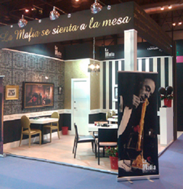 La red de franquicias La Mafia se Sienta a la Mesa en Expofranquicia 2013