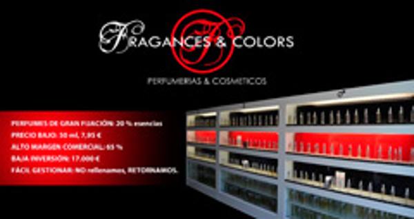 Las franquicias Fragances & Colors acudirán a EXPOFRANQUICIA 2013