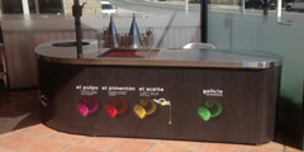 """La franquicia """"Me Gusta El Pulpo"""" inaugura en Ourense una Isla de Show Cooking"""