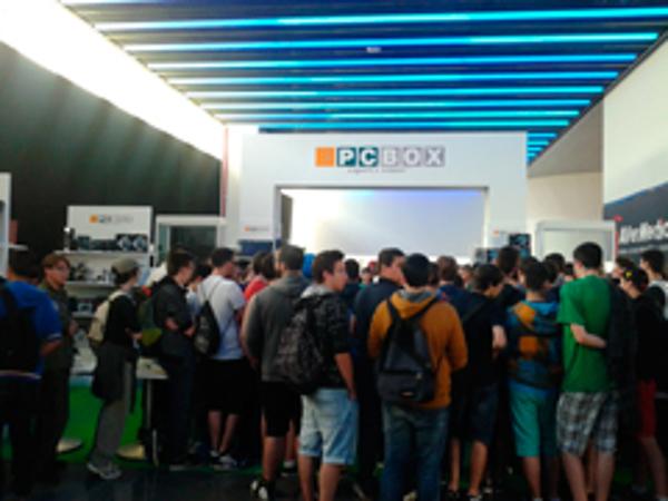El estand de la franquicia PCBOX en la Final Cup 4 de la LVP todo un éxito