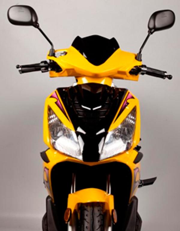 La moto eléctica Abat Fire, de la franquicia Abat, es elegida por una empresa valenciana