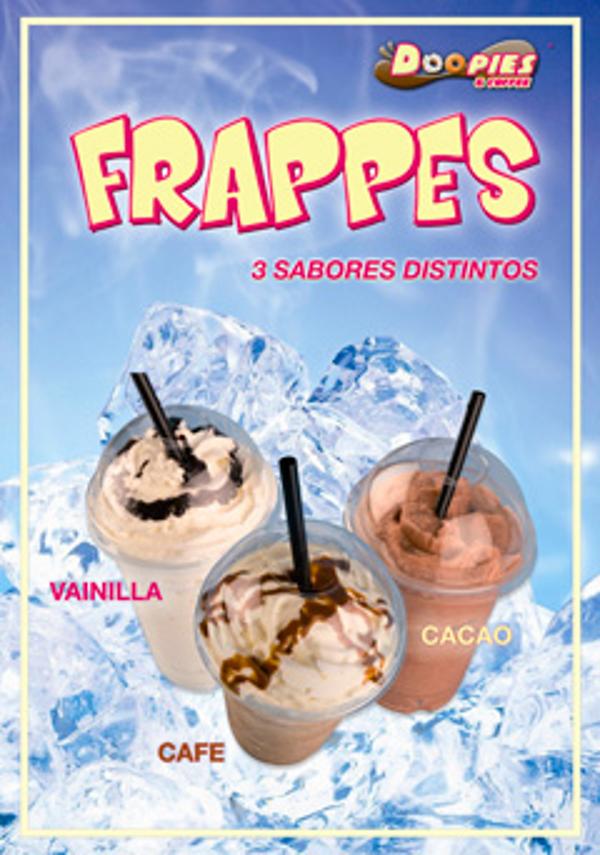 Los Frappes, el nuevo producto de la franquicia Doopies&Coffee