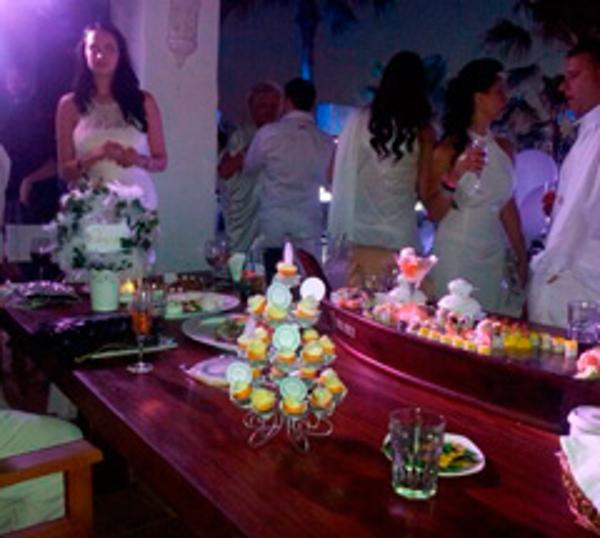 Tophouse Chocolate colaboró en una de las fiestas más lujosas de Marbella