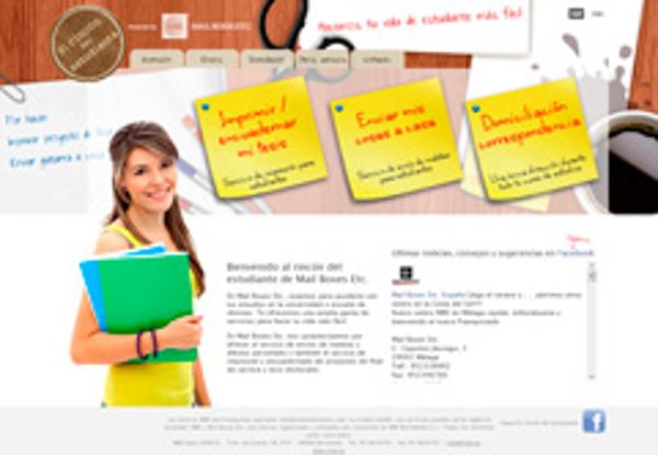 La franquicia Mail Boxes Etc. ofrece impresión y encuadernado a los estudiantes