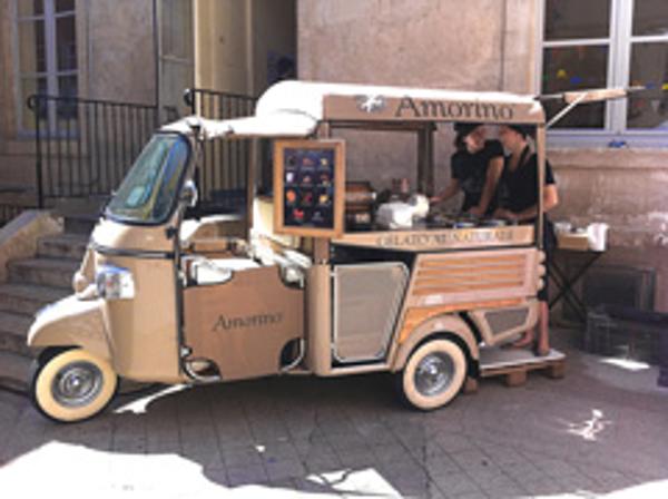 La franquicia Amorino presenta su nuevo concepto de venta al público: la moto gourmet