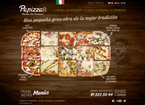 La red de franquicias PaPizza apuesta por la naturalidad en su nueva p�gina web