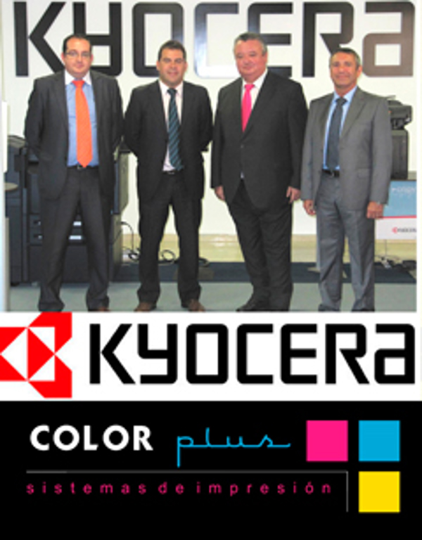 La red de franquicias Color Plus y Kyocera firman un importante acuerdo