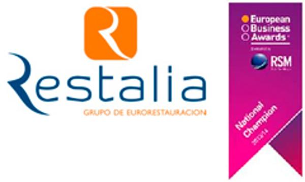 La red de franquicias Restalia representará a España en los European Businnes Awards