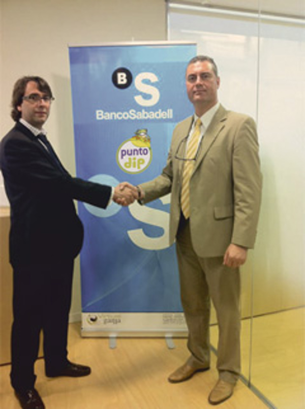 Las franquicias Punto Dip firman un convenio de colaboraci�n con el Banco Sabadell