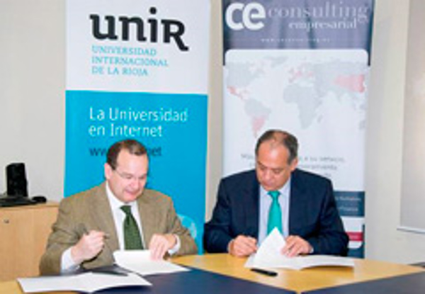 Los alumnos de UNIR podrán hacer prácticas en las franquicias CE Consulting Empresarial