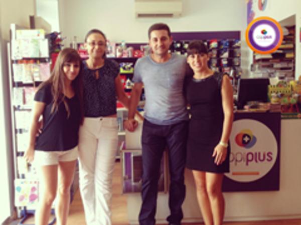 La nueva franquicia de Copiplus en Huelva finalizó su curso de formación