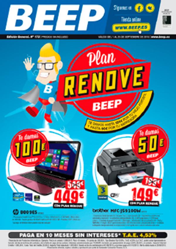 Las franquicias Beep te dan hasta 150€ por tu viejo portátil