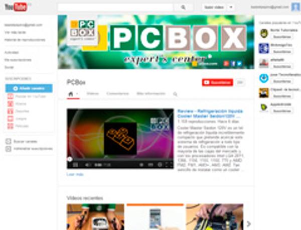 La franquicia PCBOX pone en marcha un canal en Youtube