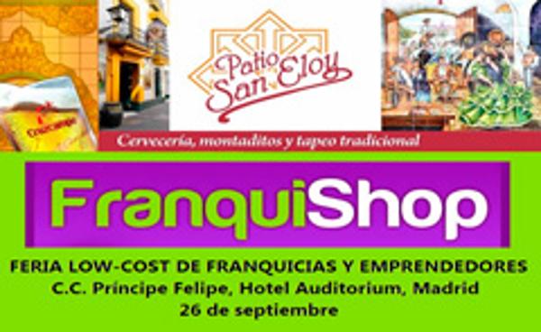 La franquicia Patio San Eloy estará presente en Franquishop