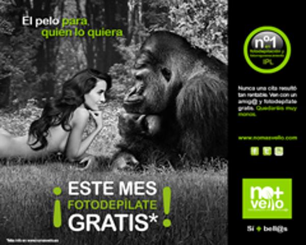 La franquicia No+ Vello estrena nueva campaña
