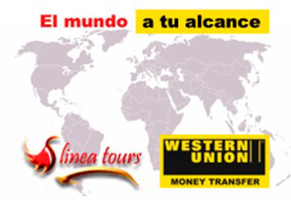 La red de franquicias Línea Tours firma un acuerdo con Western Union