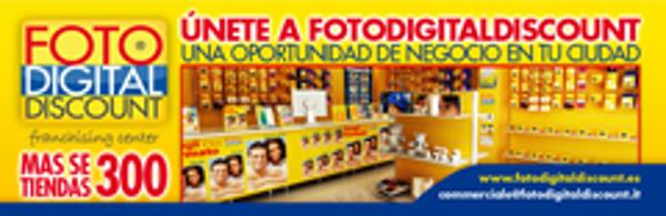 La franquicia FotoDigitalDiscount llegó a Malaga el 30 de septiembre