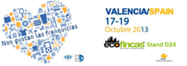 Ecofincas asistirá al Salón Internacional de la Franquicia de Valencia
