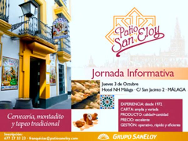Patio San Eloy inaugura su ciclo de jornadas informativas sobre su franquicia en Málaga