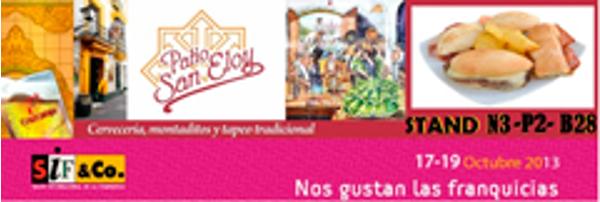 Las franquicias Patio San Eloy no faltarán a la cita en SIF & Co.