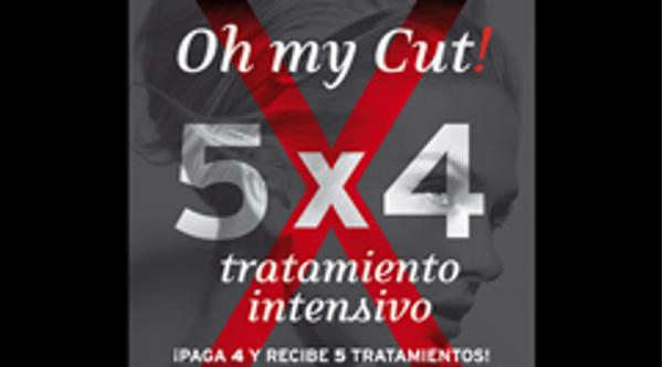 Las franquicias Oh my Cut! lanzan un nuevo bono de tratamientos intensivos 5x4