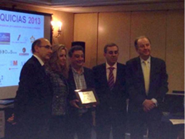 Equivalenza recibe el premio Franquicias 2013