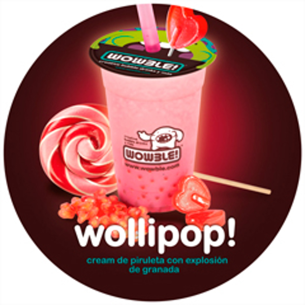 Las franquicias Wowble! soprenden con Wollipop!