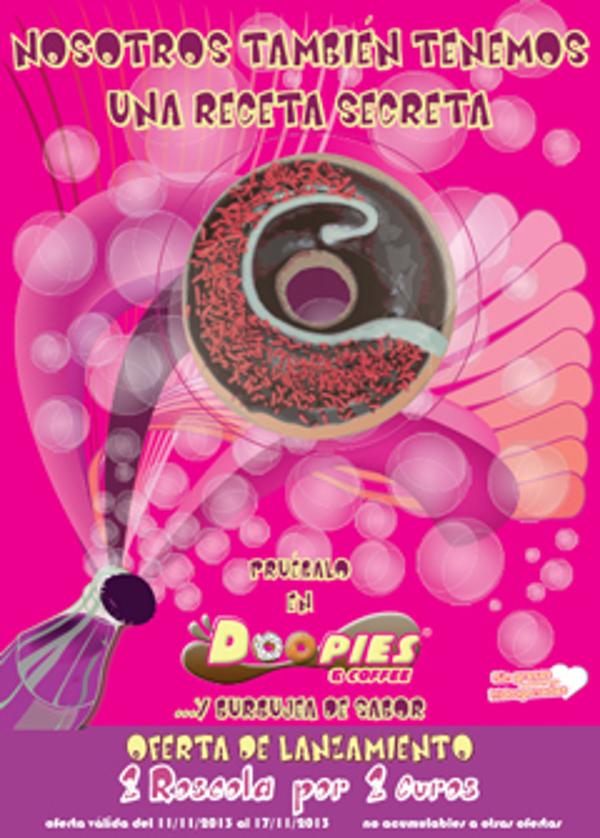 La franquicia Doopies&Coffee incorpora un nuevo doopie con sabor a cola